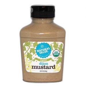Natural Value Dijon Mustard Organic 255G