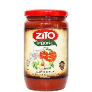 Zito Organic Pasta Sauce Napolitana (Fire Roasted Tomato & Garlic) 690G
