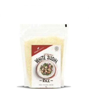 Ceres Organics White Sushi Rice 500G