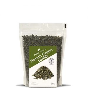 Ceres Organics Lentils Green French 500G