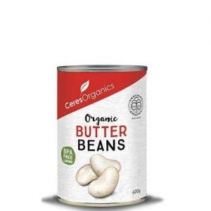 Ceres Organics Butter Beans 400G
