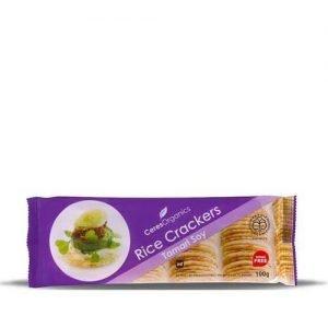 Ceres Organics Rice Crackers Tamari Soy 100G