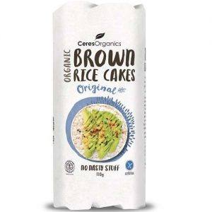 Ceres Organics Brown Rice Cakes Original 11OG
