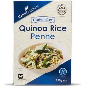 Ceres Organics Rice & Quinoa Penne 250G