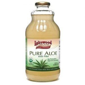 Lakewood Organic Fresh Pressed Aloe Juice 946ML