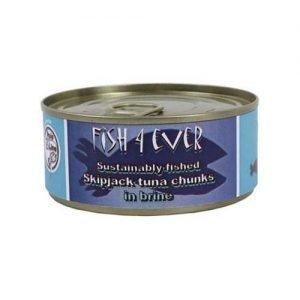 Fish 4 EverTuna Chunks In Brine 160G