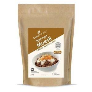 Ceres Organics Bircher Muesli Muesli Cacao Almond Date 650G