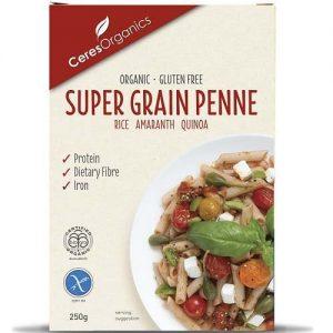 Ceres Organics Supergrain Penne Pasta 250G