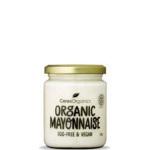 Ceres Organics Mayonnaise Egg Free Vegan 235G
