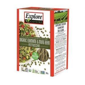 Organic Explore Cuisine Edamame Mungbean Fettucini 200G