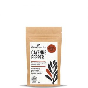 Ceres Organics Cayenne Pepper 50G