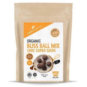 Ceres Organics Bliss Ball Choc & Seeds 220G