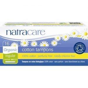 Natracare Tampons Regular Applicator 16