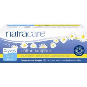 Natracare Cotton Tampons Super 20