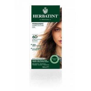 Herbatint Hair Colour Dark Golden Blonde 6D