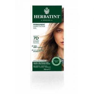 Herbatint Hair Colour Golden Blonde 7D 150ML