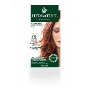 Herbatint Hair Colour Copper Blonde 7R 150ML