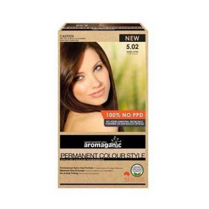 Aromaganic Hair Colour Warm Coffee 5.02