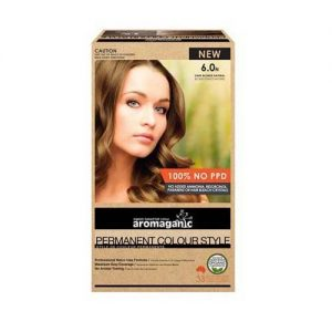 Aromaganic Hair Colour Dark Blonde 6.0