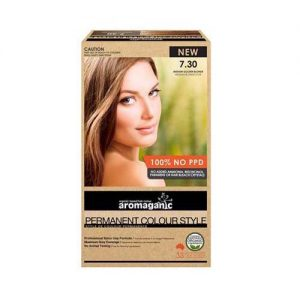 Aromaganic Hair Colour Med Gold 7.30