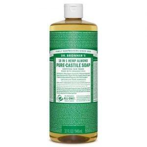 Dr Bronner Almond Castile Soap 944ML
