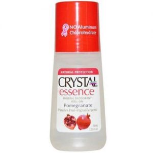 Roll On Crystal Essence Deodorant Pomegranate 66ML