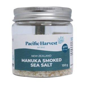 Pacific Harvest Manuka Smoked Sea Salt 100G