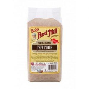Bobs Red Mill Whole Grain Teff Flour 680G