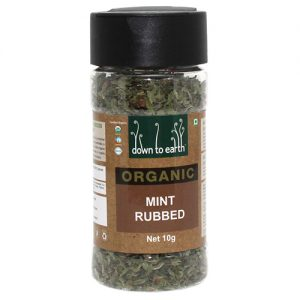 Down To Earth Mint Rubbed 10G