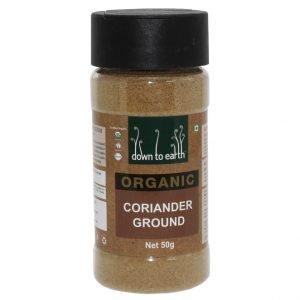 Down To Earth Coriander Ground 50G