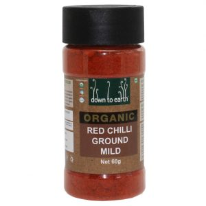 Down To Earth Red Chilli Ground Mild 60G
