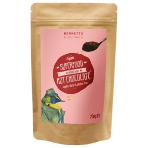 Bennetto Superfood Hot Chocolate 250G
