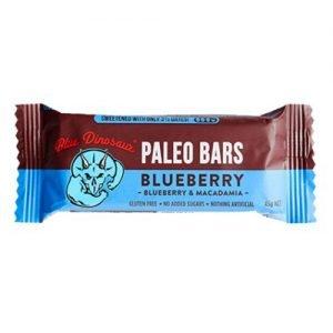 Blue Dinosaur Paleo Bar Blueberry 45G