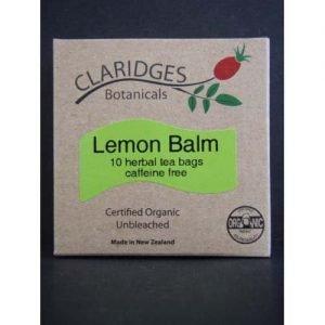Claridges Botanicals Lemon Balm 10 Tea Bags