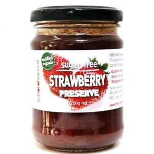 Te Horo Harvest Sugar Free Strawberry Preserve 250G
