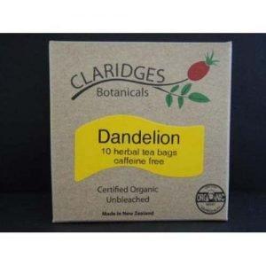 Claridges Botanicals Dandelion Tea 10 Bags