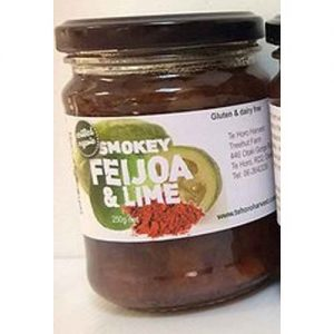 Te Horo Harvest Smokey Feijoa Lime Chutney250G