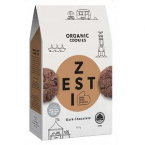 Zesti Organic Chocolate Cookies 180G