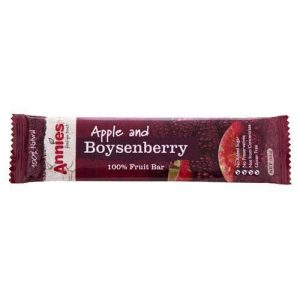 Annies Boysenberry Fruit Bars Apple & Berry 30G