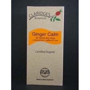 Claridges Botanicals Ginger Calm Tea 30 Bags