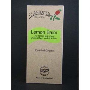Claridges Botanicals Lemon Balm 30 Tea Bag