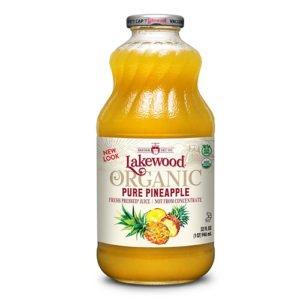 Lakewood Organic Pineapple Juice 946ml
