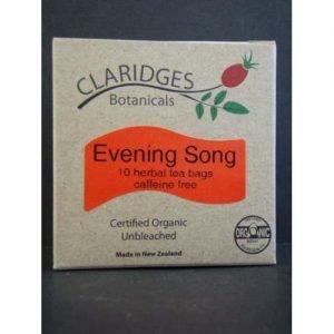 Claridges Botanicals Evening Song Tea 10 Bags