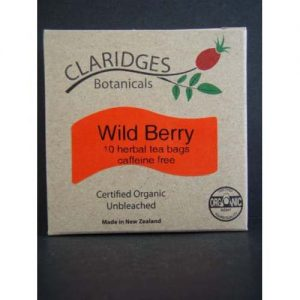 Claridges Botanicals Wild Berry Tea 10 Bags