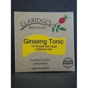 Claridges Botanicals Ginseng Tonic Tea 10 Bags