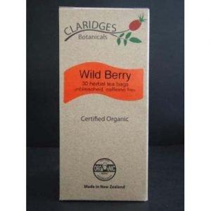 Claridges Botanicals Wild Berry Tea 30 Bags