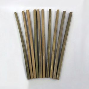 Bamboo Straws Single