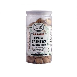 Down To Earth Cashew Roast Green Chilli 100G