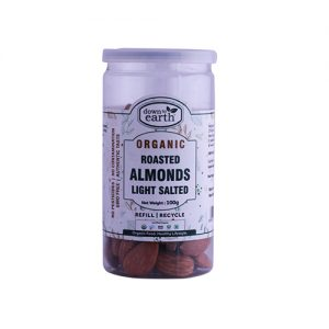 Down To Earth Almonds Roast Light Salt 100G