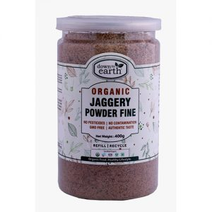 Down To Earth Jaggery Powder Fine 400G